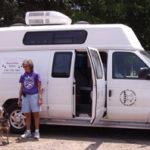 Our dog Checks Out The Shrewsbury Mobile Dog Grooming Van
