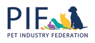 Logo of the Pet Industry Federation.